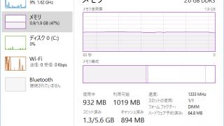 ASUS X205TA のメモリは2GB、メモリ増設はできるのか?
